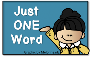 Just One Word 1
