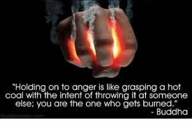 forgiveness - holding on to anger