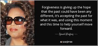 forgiveness, oprah