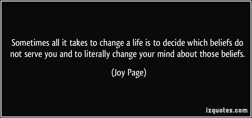 believing - joy page