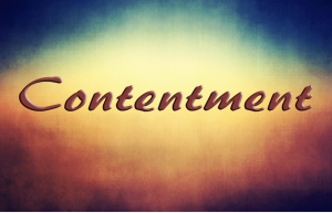 mazimizing - contentment